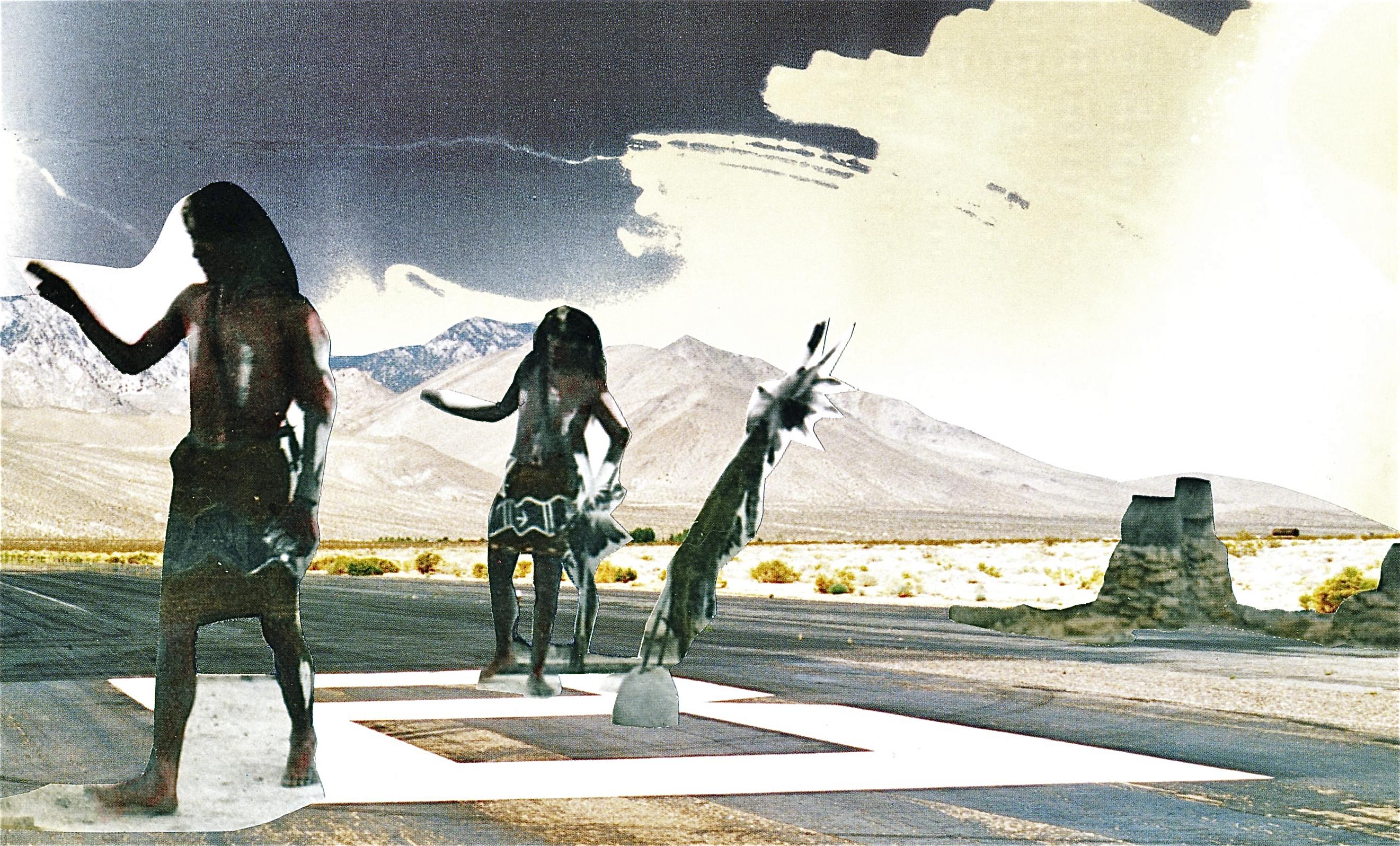 """Runway Dance, 2011, 9"""" x 5 1/2"""""""